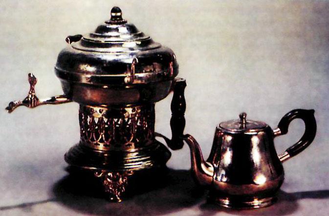 Бульотка и заварной чайник. Россия. Начало 20 в.